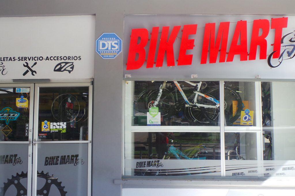 Nuestras tiendas Bikemart